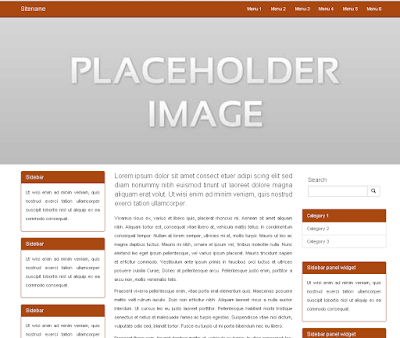 responsive-plain-layout-with-left-right-sidebar