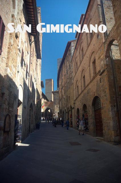 San Gimignano, Toskania, Włochy