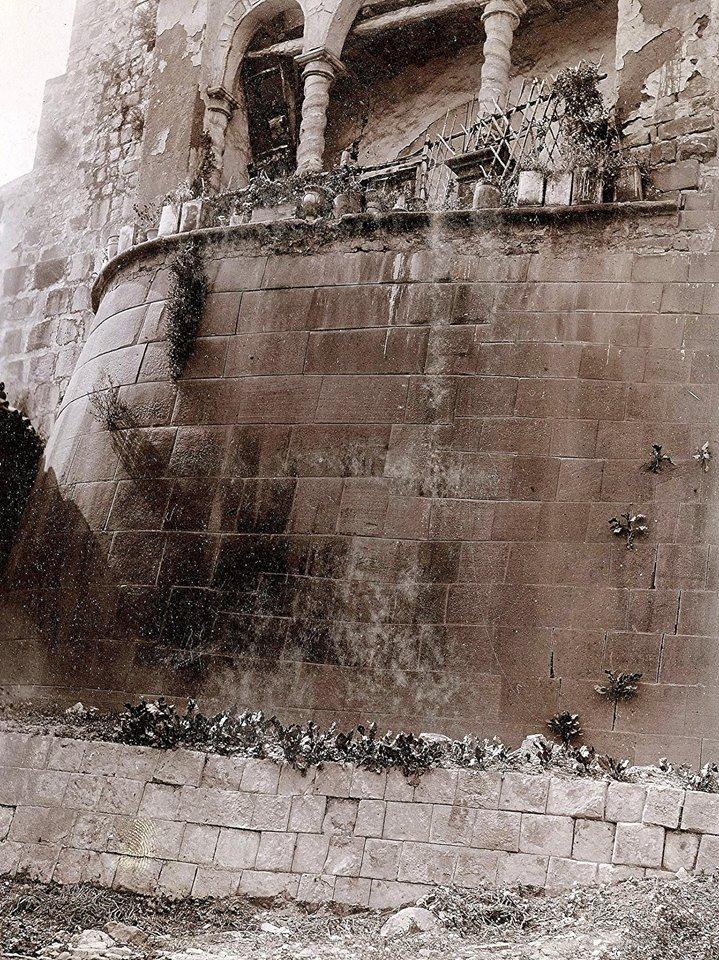 El impresionante Gran Muro del Qoricancha en el Cusco - Foto antigua