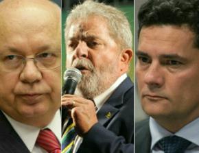 Teori critica Lava Jato, mas STF mantém Lula com Moro