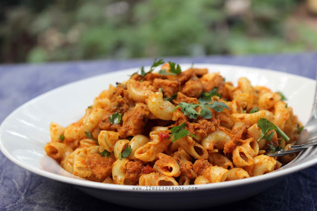 Curried Chicken Pasta