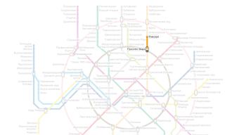 Станция метро Рижская