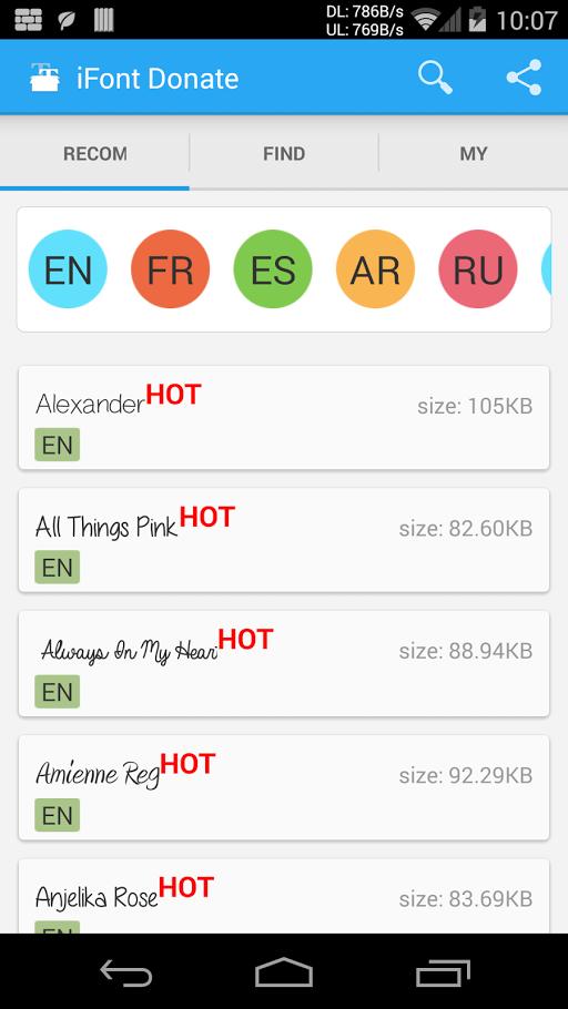 iFont (Expert of Fonts) Donate v5.8.5 Apk