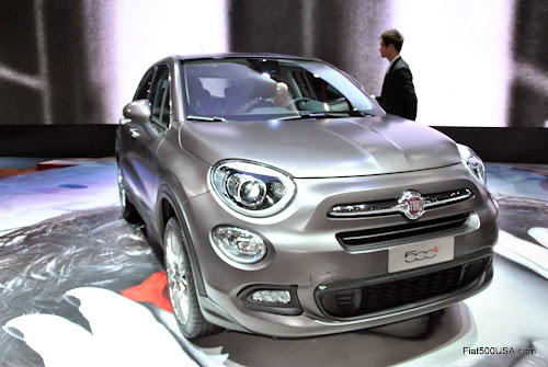 Fiat 500X at Paris Debut