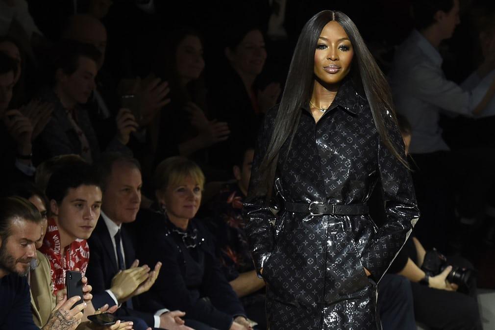 Наомі Кемпбелл представляє колекцію Louis Vuitton