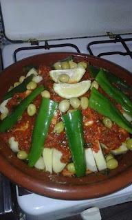 طريقة سهلة لعمل طجين بدجاج مغربي