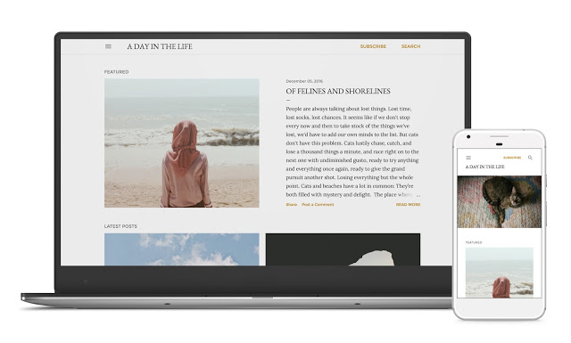 Soho Blogger Template