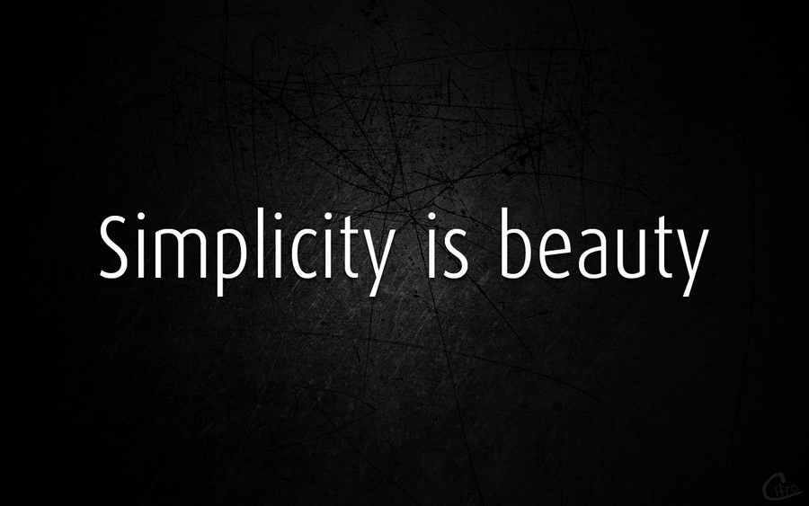 Beauty In Simplicity Quotes. QuotesGram