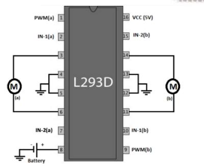 l293d connection