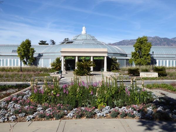 Huntington Gardens Conservatory Pasadena