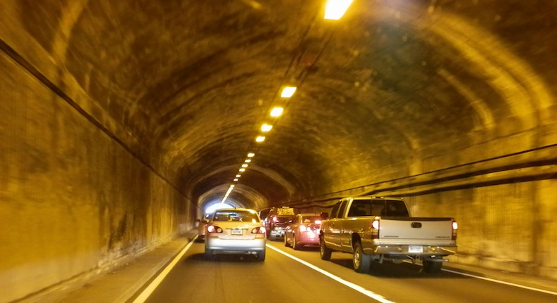 West Rock Trails: West Rock Tunnel (Heroes Tunnel)
