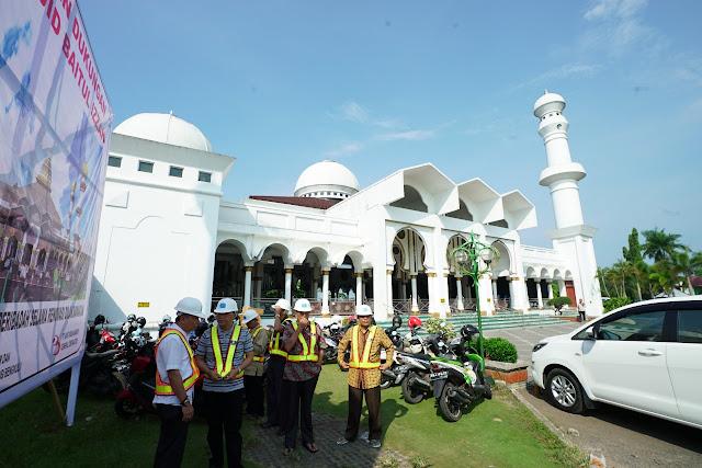 Renovasi Baitul Izzah Tak Ganggu Aktivitas Saat Ramadhan