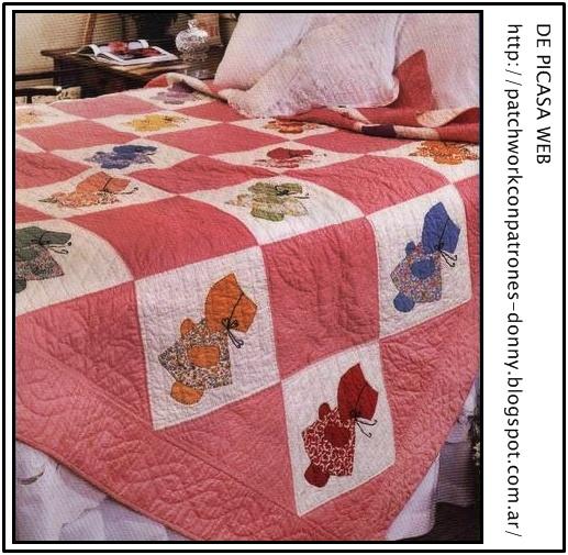 Patchwork solo patrones todo gratis imagenes ideas de - Patrones colcha patchwork ...