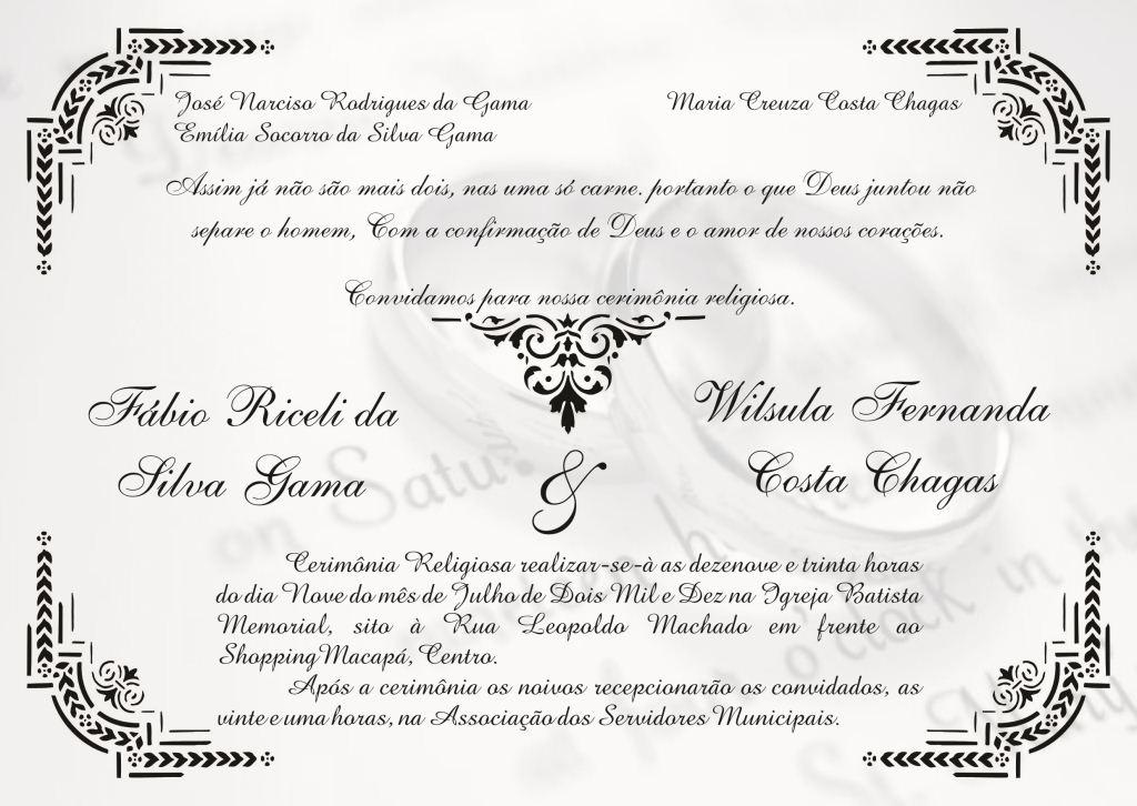Frases Convite De Casamento Catolico Frases Para O Convite De