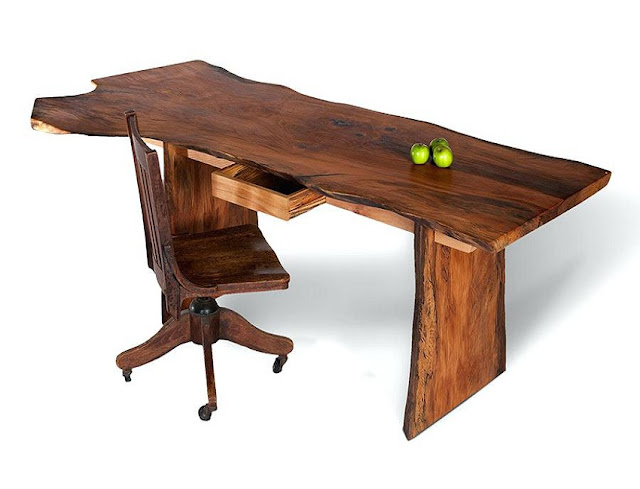 best buy rustic style office furniture design with chair for sale