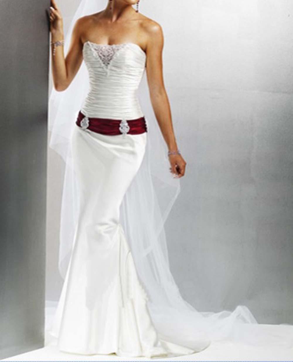 Western Wedding dress - Cowboy Style Wedding Bands