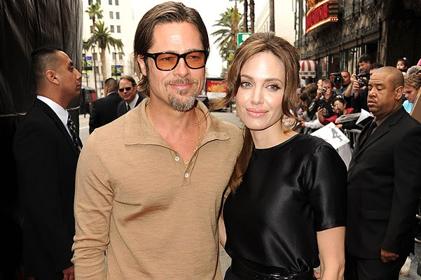 Brad and Angelina has previously consisted of marriages