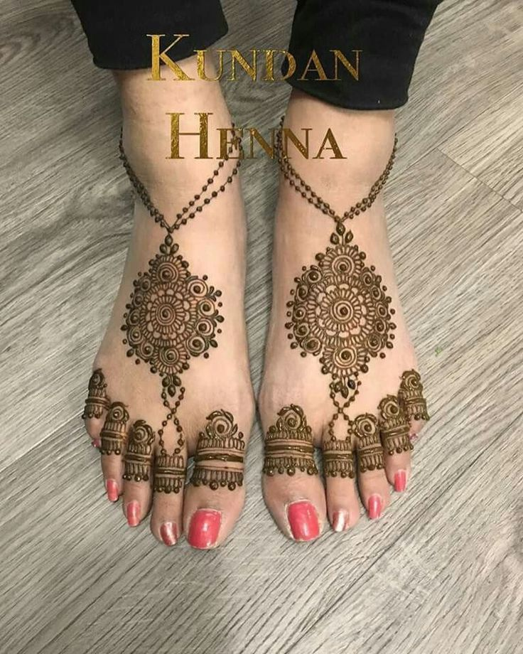 best pero ki mehndi design images