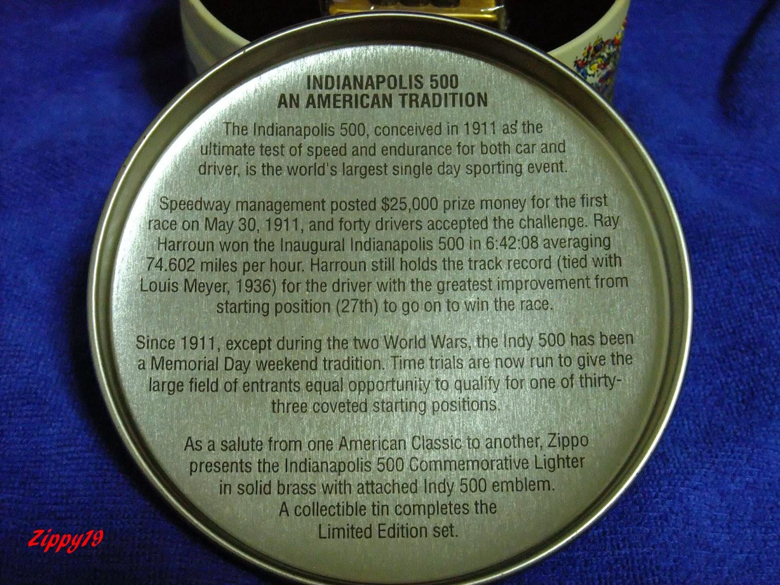 Limited Edition Zippo Lighters Daytona 500