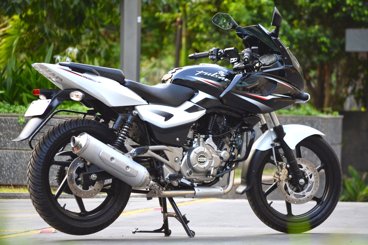 Letest news, review about car and bike: bajaj pulsar 220-f in new.