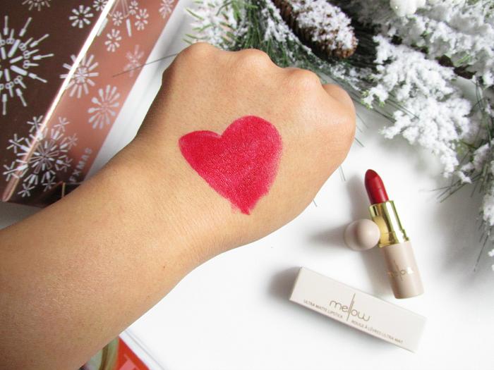 Swatch: Mellow Cosmetics - Madness Creamy Matte Lipstick - $13.00