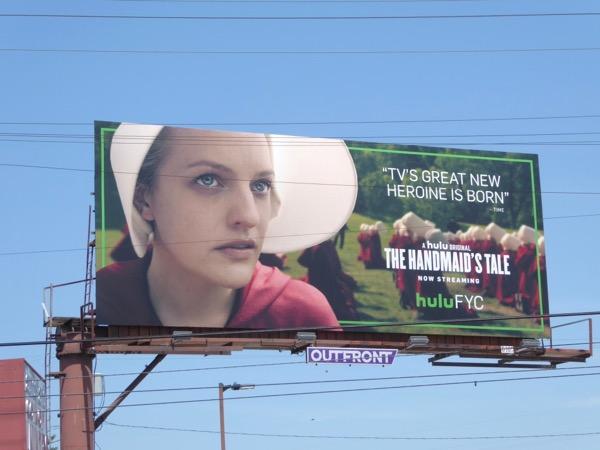 Handmaids Tale season 1 Emmy FYC billboard