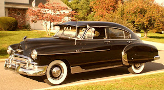 1950 Chevrolet Fleetline Deluxe Side
