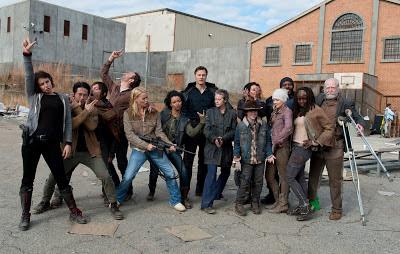 The Walking Dead - il cast rockeggia