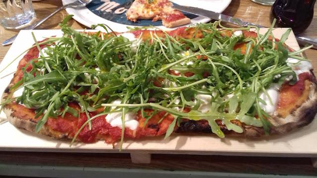 Pizza at Buongiorno e Buonasera, Baker Street
