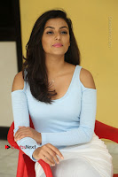 Anisha Ambrose Latest Pos Skirt at Fashion Designer Son of Ladies Tailor Movie Interview .COM 0889.JPG