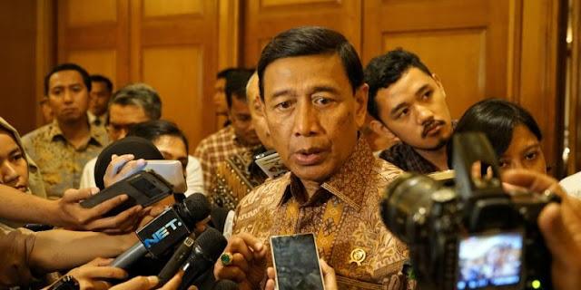 Tentang Ketegangan KPK dengan DPR, Wiranto: Pemerintah Tak Mau Ikut Campur