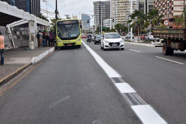 Prefeitura prorroga prazo para início da fiscalização nas faixas exclusivas