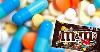 Obat pil kapsul tablet & permen cokelat m&m - Tips Cara Mudah Belajar Menelan Obat Kapsul & Tablet Pahit