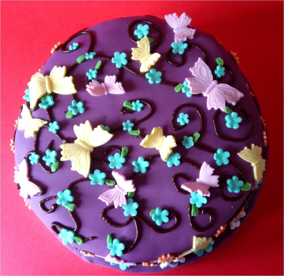 A Very Girlie Chocolate Birthday Cake Utterly Scrummy