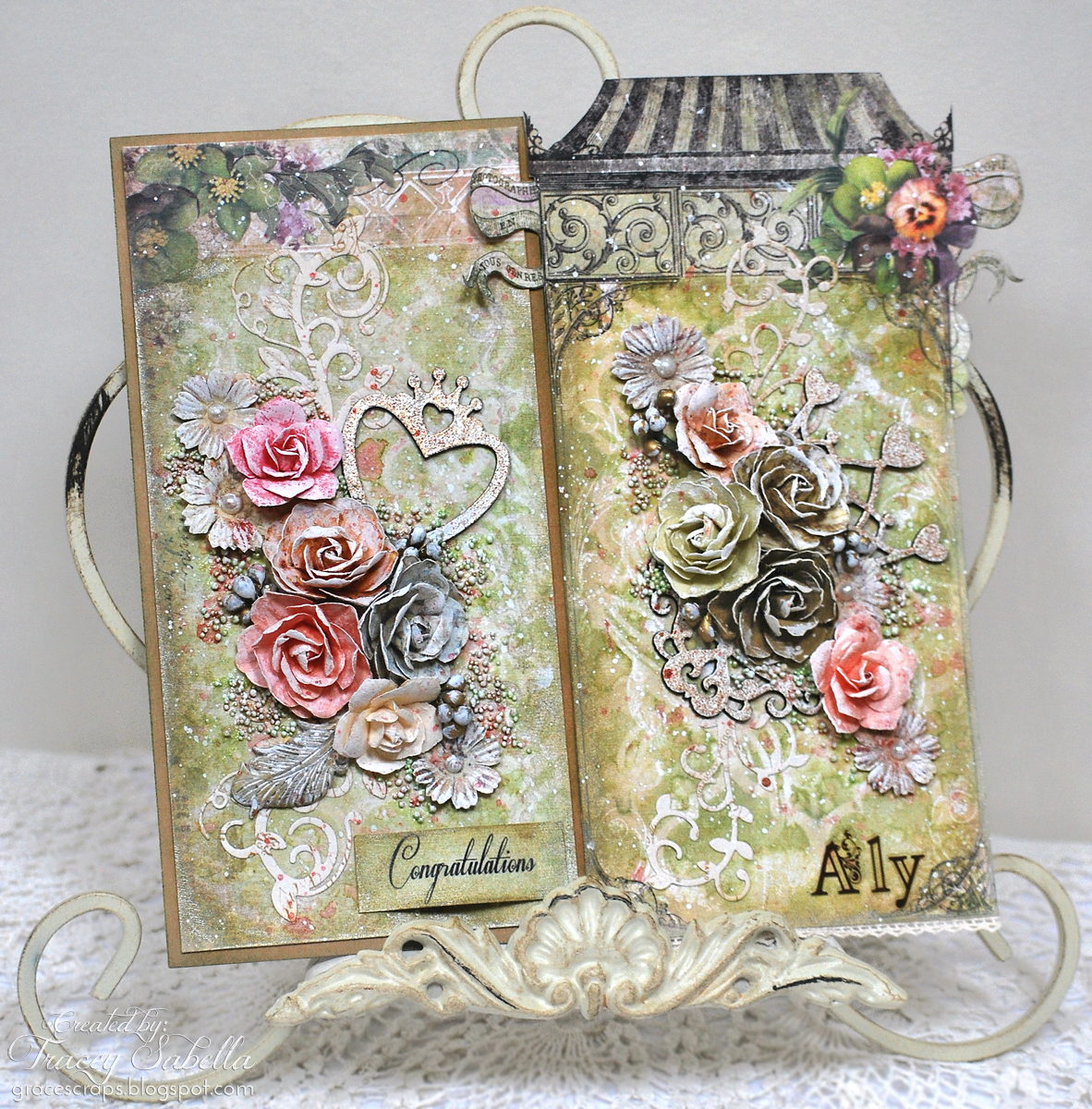 Garden of Grace: Mixed Media Tag & Card Set with VIDEO