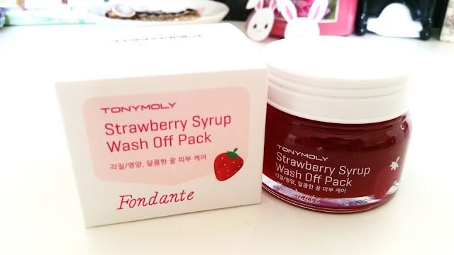 Tonymoly Strawberry Syrup Wash Off Pack (Fondante)