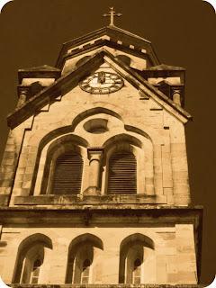 Detalhe da Torre da Catedral, Lages