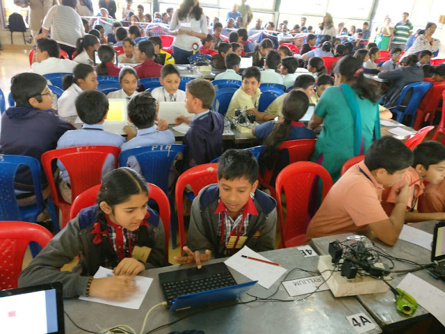 4th Xyo Inter-School Maths-Science Olympiad conducted in the city