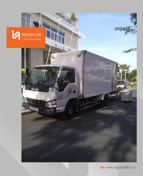 thuê xe tải chở hàng riverside quận 7