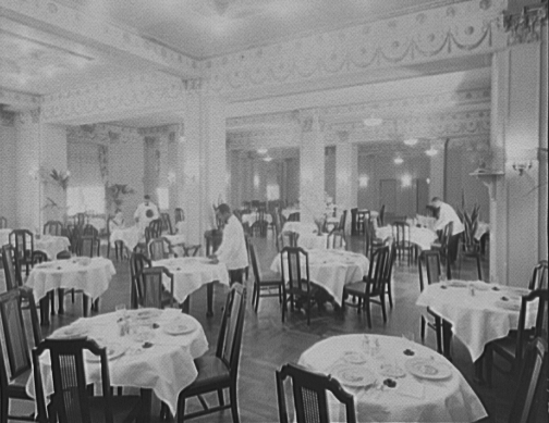 Streets of washington for U s senate dining room