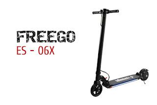Opinión del patinete FREEGO ES-06X