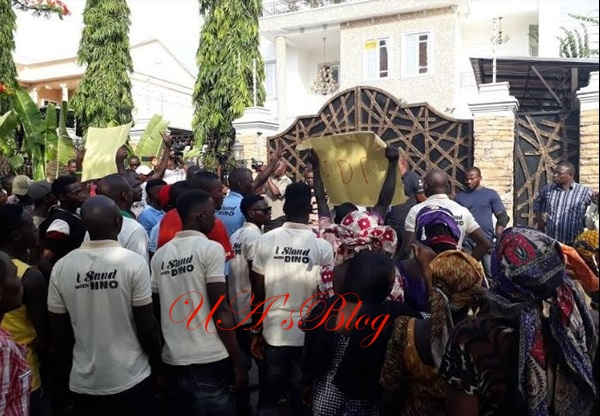 Breaking: Melaye Agrees To Appear Before Police Today, As IDPs Spend Night Protecting His House