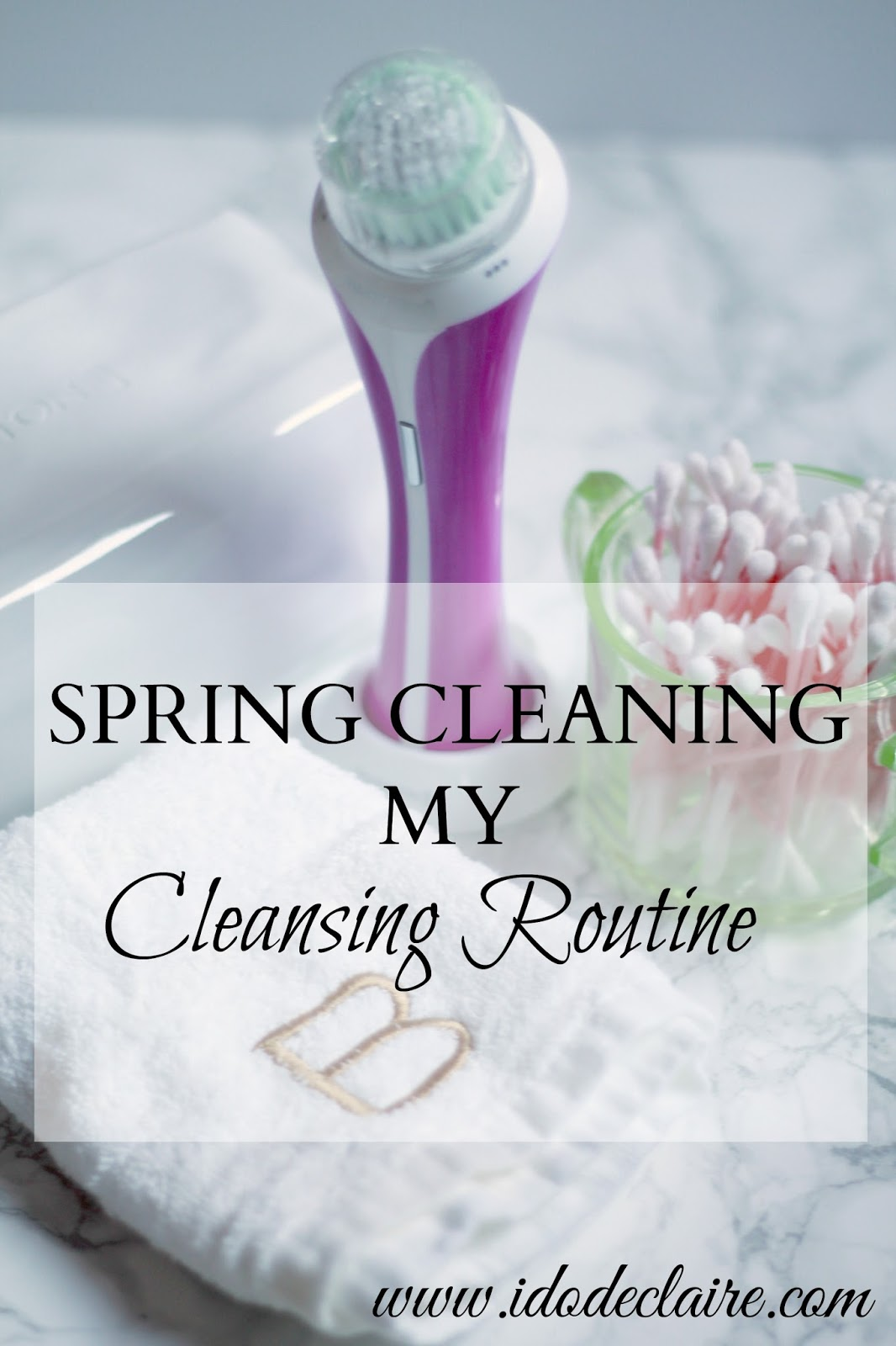 remington facial cleansing brush, spring skincare routine