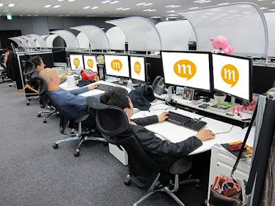 クルーズ&アトラス オフィス デスク 後傾姿勢 パソコン