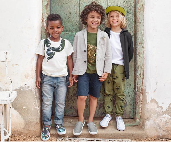 ropa niños primavera verano H&M