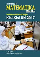 Ebook Intensif Matematika IPA sesuai kisi-kisi UN 2017