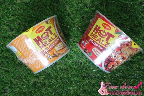 Hot Mealz Kari Kari Kaw Bowl  dan  Hot Mealz CurryLaksa Bowl