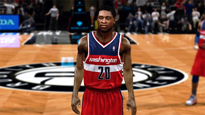 NBA 2K13 Cartier Martin Face Texture Mods
