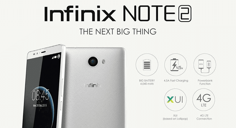 Infinix Note 2 X600 May, 27 launch