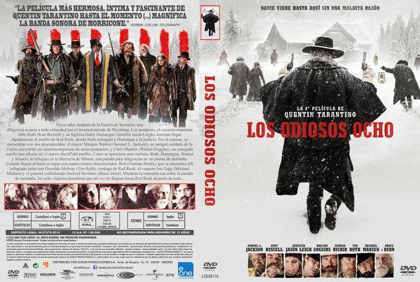 Los Odiosos Ocho – Castellano, Inglés – DVD9